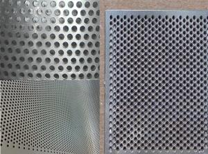 China Stainless Steel 0.5-8.0MM Thick Round Hole Perforated Metal Sheet on sale