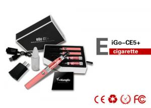 China Green 900mAh Ego Electronic Cigarette CE5 Clearomizer RoHS , No Leaking on sale