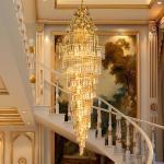 Lustre d'empire d'or pour les appareils d'éclairage à la maison d'intérieur (WH-NC-12)