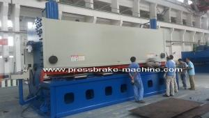 China Steel Hydraulic Guillotine Shears Sheet Metal 3 Times/Min Cutter on sale