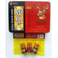 China deer blood piece sex enhancer natural sex softgel on sale