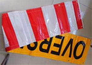China Outdoor Custom Made Vinyl Banners Printed Yellow Black For Business on sale