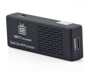 China New Mini PC android tv box mini Bluetooth Dual Core 1G 8G HDMI Black and White on sale
