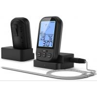 Wireless Digital Meat Thermometer - Remote BBQ Kitchen Cooking Thermometer for Oven Grill Smoker with Timer