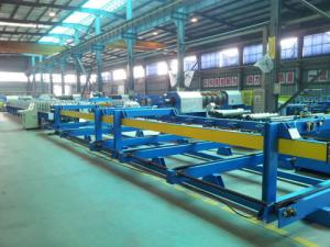 China 0.3 - 0.7mm Structural Steel Roof Panel Roll Forming Machine For Building Wall on sale