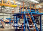 Air Clamping 20mm Copper Rod Continue Casting Machine Complete Line With Touch Screen