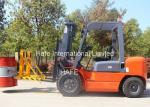CPCD30 Manual Diesel Forklift 3T With Chinese Engine And Double Front Tyre