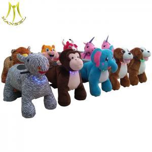 China Hansel toy motorized go cart child electric cart stuffed animal rides on sale