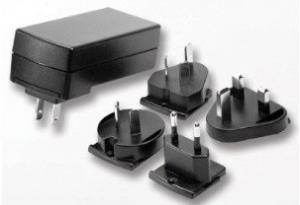 China adapter with interchangeable plugs 35V plug in adapter, AC plug adapter power supplier on sale