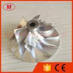 CT26 17291-17010 42.12/64.89m m rueda del compresor del billete del turbocompresor de 6+6 cuchillas para TOYOTA