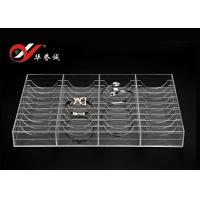 China 40 Bangles Exhibition Acrylic Jewelry Display Stand Clear Color Size Customized on sale