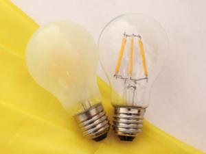 China LED Filament Bulb/LED Light 4W 6W 8W 220-240 V clear/milky bulb Dia Φ60*108mm CE/RoHS/ERP certificate passed on sale
