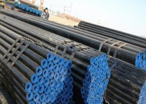 China Oilfield Casing Seamless Steel Pipe Longitudinal Welded Line Round Shape on sale