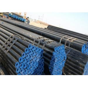 China Oilfield Casing Seamless Steel Pipe Longitudinal Welded Line Round Shape on sale