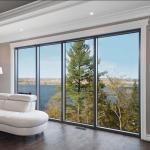 Fabricated aluminium Glass fixed Awning Windows and doors