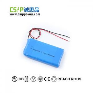 China Safe Great Power Lithium Polymer Battery , Lithium Battery For Drone 103565 on sale