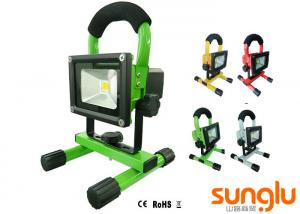 China Aluminium Portable LED Flood Lights , Rechargeable LED Floodlight For Landscape on sale