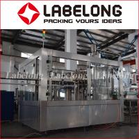 China Automatic Bottle Filling And Capping Machine , PLC Control Beverage Bottling Machine on sale