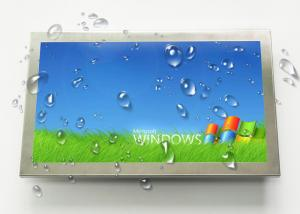 China Fanless Industrial Touch Panel PC 21.5'' Widescreen 1920*1080 Full IP65 Waterproof on sale