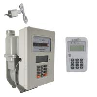 China IP67 Natural Gas Flow Meter , G2.5 Gas Prepayment Meter on sale