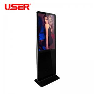 China Horizontal Vertical Floor Standing LCD Advertising Player Usb Digital Signage Totem on sale