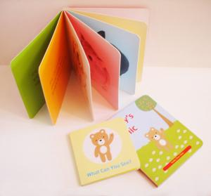 China Art Paper, Cardboard Childrens Picture Book Printing Service for Story book, Pop-up book on sale