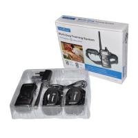 China 1000m Rechargeable Remote Pet Training Collar With Big LCD For 2 Dogs on sale