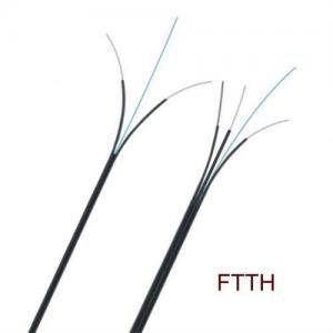 China Best quality Large bending radius ftth indoor 2core fiber optic cable price per meter on sale