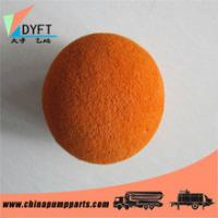 China DN125 Concrete Pump Pipe Cleaning Sponge Ball on sale