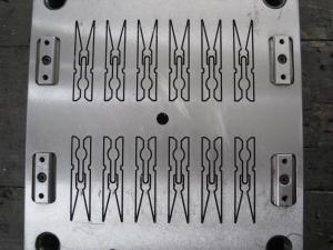 China Multi Cavities Injection Molding Molds PEG Hanger Mold OEM ODM Service on sale