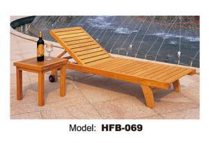 China Ocioso de madera de Sun con los apoyabrazos para los muebles de la teca on sale