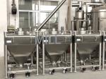 GMP Standard Vacuum Conveyor For Powder Stainless Steel Tote IBC Tank