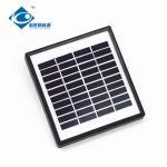 2W 10V Glass Laminated Solar Panel for lithium battery solar storage ZW-2W-10V solar panel photovoltaic