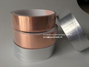 China Self Adhesive Copper Foil Tape Smooth Surface With Acrylic Glue Adhesive on sale
