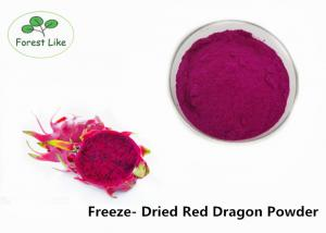 China Freeze Dried Red Dragon Fruit Powder on sale