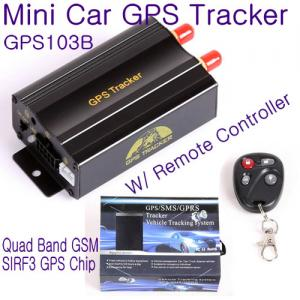 China GPS103B Remote Control Car Vehicle Truck GPS Tracker Real Time GPS Tracking Locator System W/ Cut-off oil & power by SMS on sale