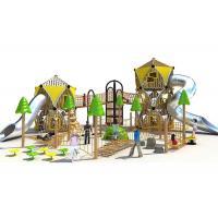Professional Custom Backyard Playground Powder Coated Stimulated Kids Curiosity