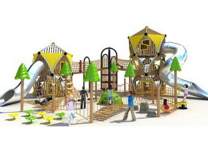 China Professional Custom Backyard Playground Powder Coated Stimulated Kids Curiosity on sale