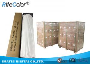Quality Eco Solvent 380gsm Matte Cotton Canvas for Large Format Inkjet Printer for sale