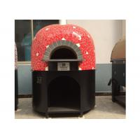 China Gas Heating Italy Pizza Oven Lava Rock Materials Various Colors Oven on sale