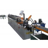Ceiling Channel Roll Forming Machine / T Bar Suspended Ceiling Grid Production Line