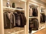 Environmental Men'S Garment Rack / Garment Showroom Display For Clothes Shop