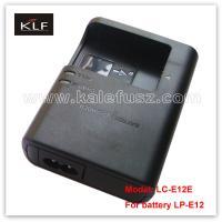 Digital Camera Charger LC-E12E For Canon Battery LP-E12