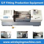 pe coupling wire laying machine electo fusion saddle wire laying, wire laying machine for
