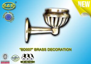 Quality Ref Number BD007 Brass Decoration Material Copper Alloy Tombstone Accessory Lampholder for sale