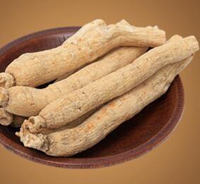 China Traditional Medicine Herb Dried White Ginseng Root. on sale