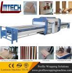 wooden model kitchen doors vacuum membrane press machine