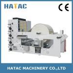 High Speed Paper Reel Printing Machine,Trade Mark Printer Machinery,Flexo Printing Machine