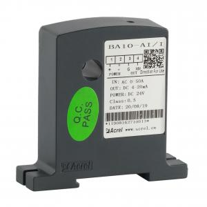 China Acrel 300286.SZ BA10- AI/I AC current transmitter isolate ac current to DC 4-20mA analog output on sale