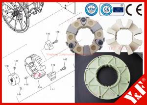 China Coupling for ISUZU 6HK1 Engine fix Excavator hydraulic Pump Engine Flywheel on sale